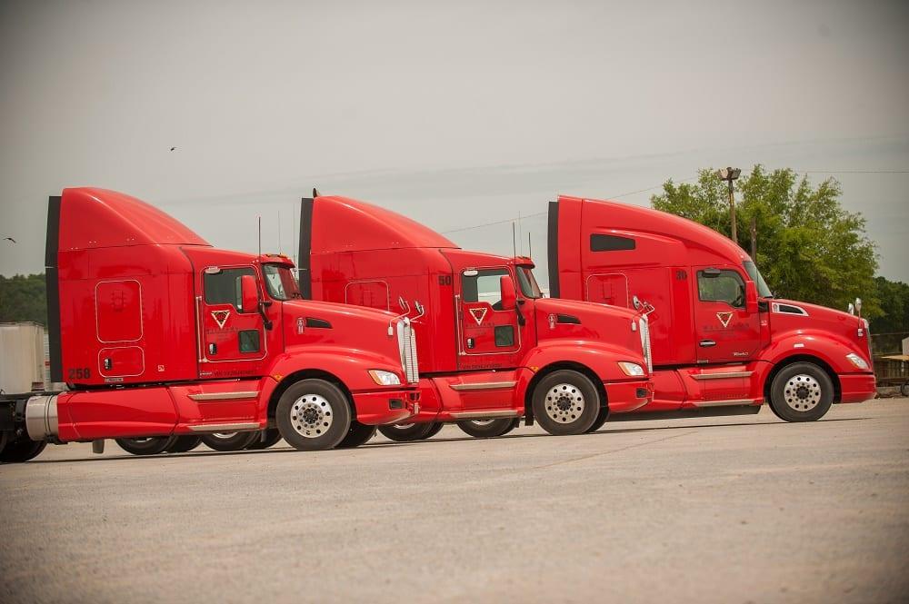 Three BR Trucks