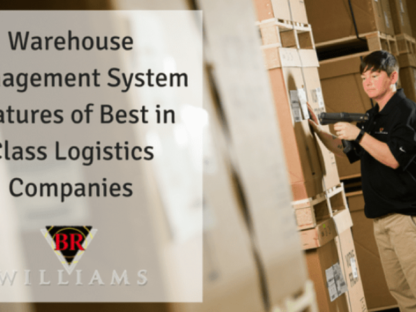 Warehouse Management System (WMS) Features In Use By Best In Class Logistics Companies