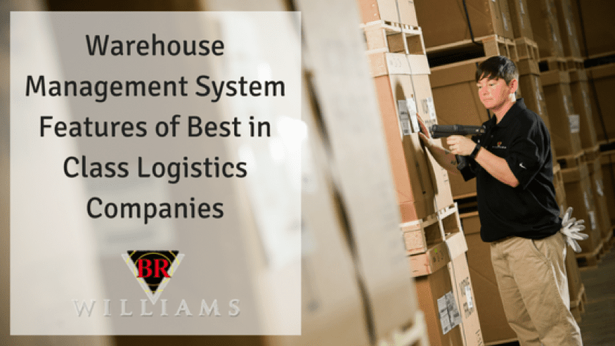 Warehouse Management System (WMS) Features Used By Best-in-Class Logistics Companies