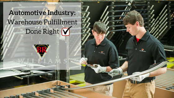 Automotive Industry: Warehouse Fulfillment Done Right!