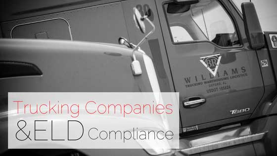 Trucking Companies and ELD Compliance