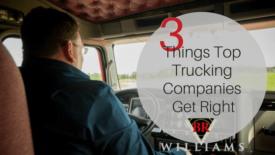 3 Things Top Trucking Companies Get Right