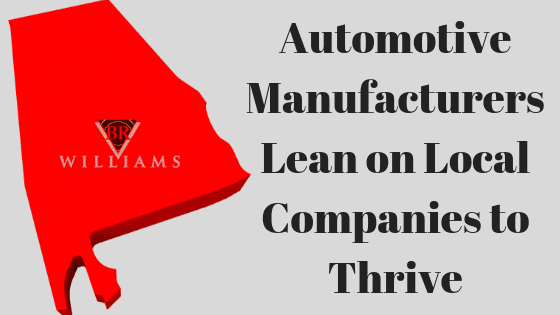 Automotive Manufacturers Lean on Local Companies to Thrive