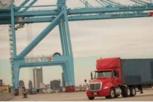Intermodal Trucking and Container Drayage at the Port of Mobile in Alabama