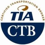 Badge logo for TIA Certified Transportation Broker