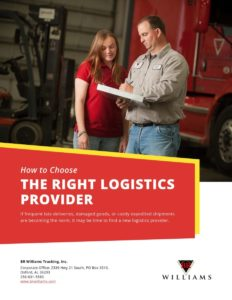 How to Choose the Right Logistics Provider eBook Cover