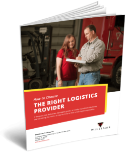 How to Choose the Right Logistics Provider eBook