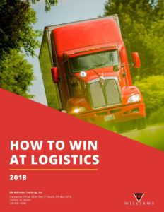How to Win at Logistics 2018 eBook Cover