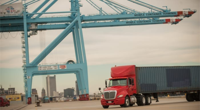 Intermodal Trucking Company in Alabama