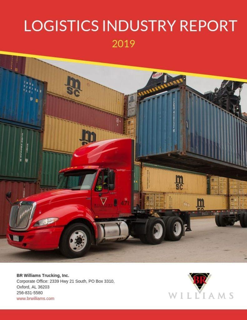 Logistics Industry Report 2019 Cover