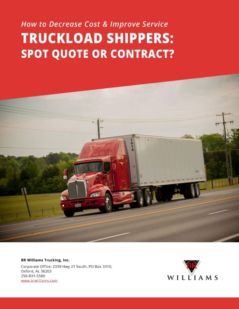 Truckload Shippers Contract Whitepaper Cover