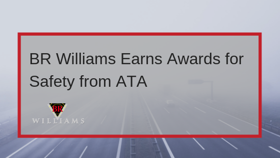 BR Williams Earns Awards for Safety from ATA