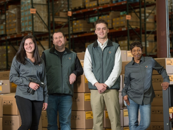 Automotive Logistics Packaging Employees