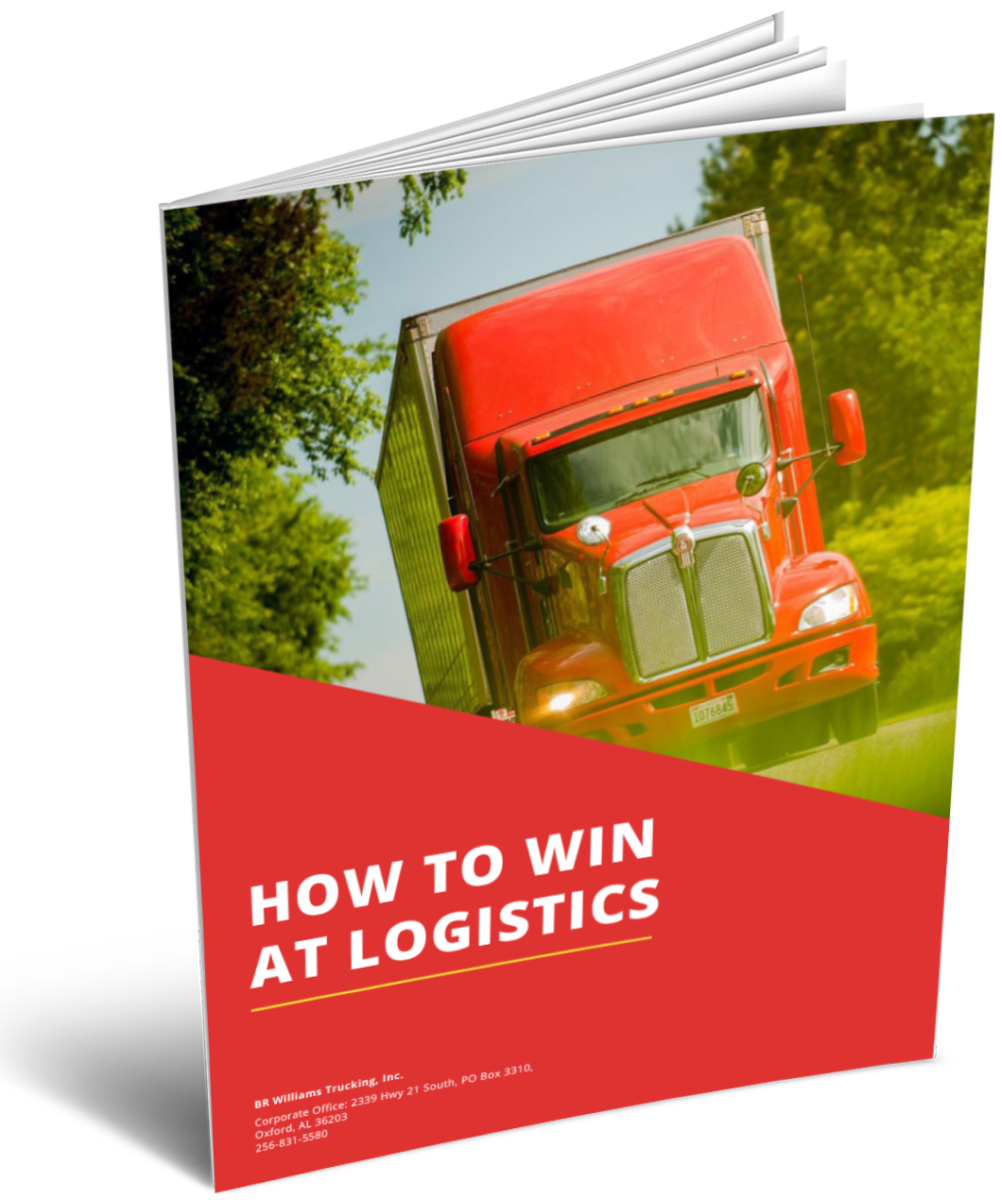 How to Win at Logistics eBook Cover | BR Williams