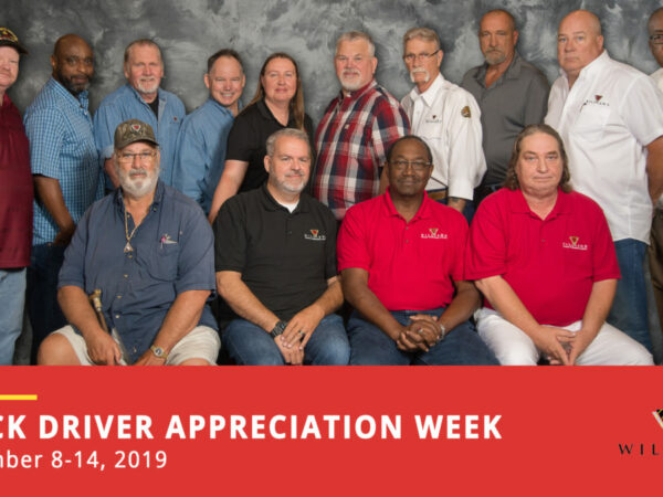 Truck Driver Appreciation Week | September 8-14, 2019