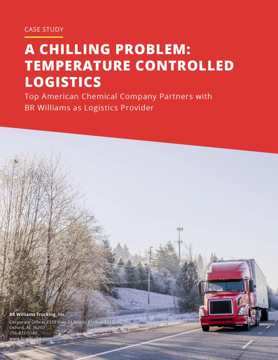 Temperature Controlled Logistics Case Study Cover