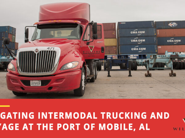 Navigating Intermodal Trucking and Drayage at the Port of Mobile, Alabama