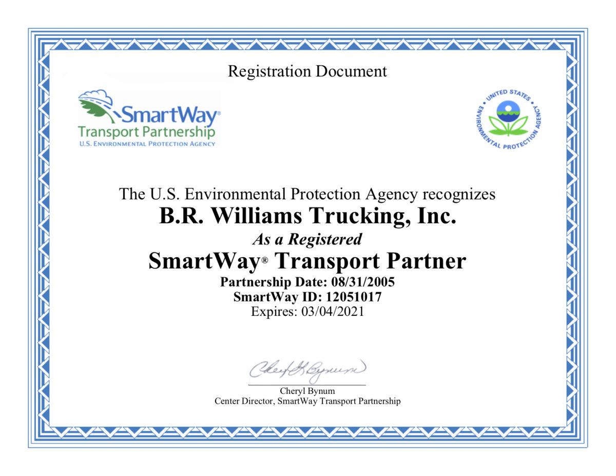 Smartway_EPA_Registration_Cert