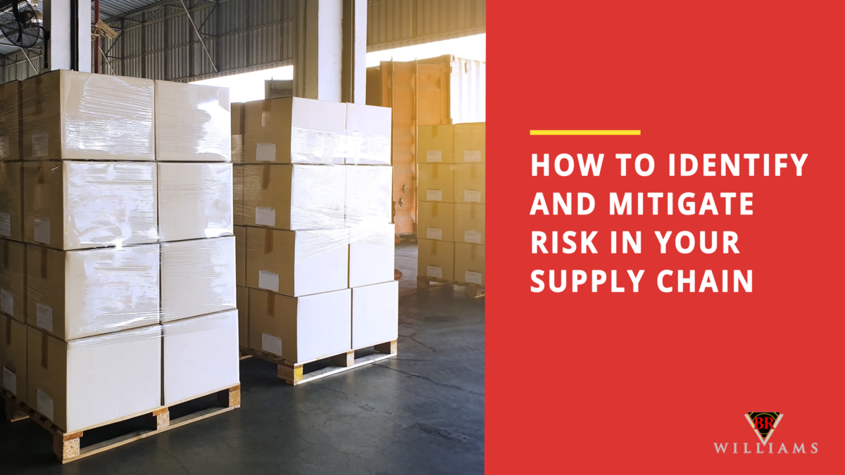 How to Identify and Mitigate Risk in Your Supply Chain