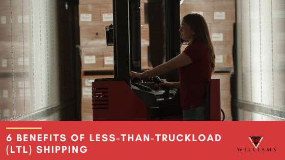 6 Benefits of Less-Than-Truckload (LTL) Shipping
