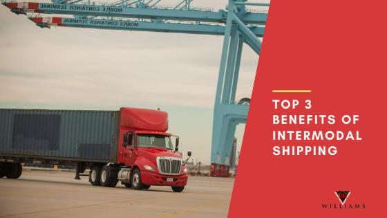 Top 3 Benefits of Intermodal Shipping