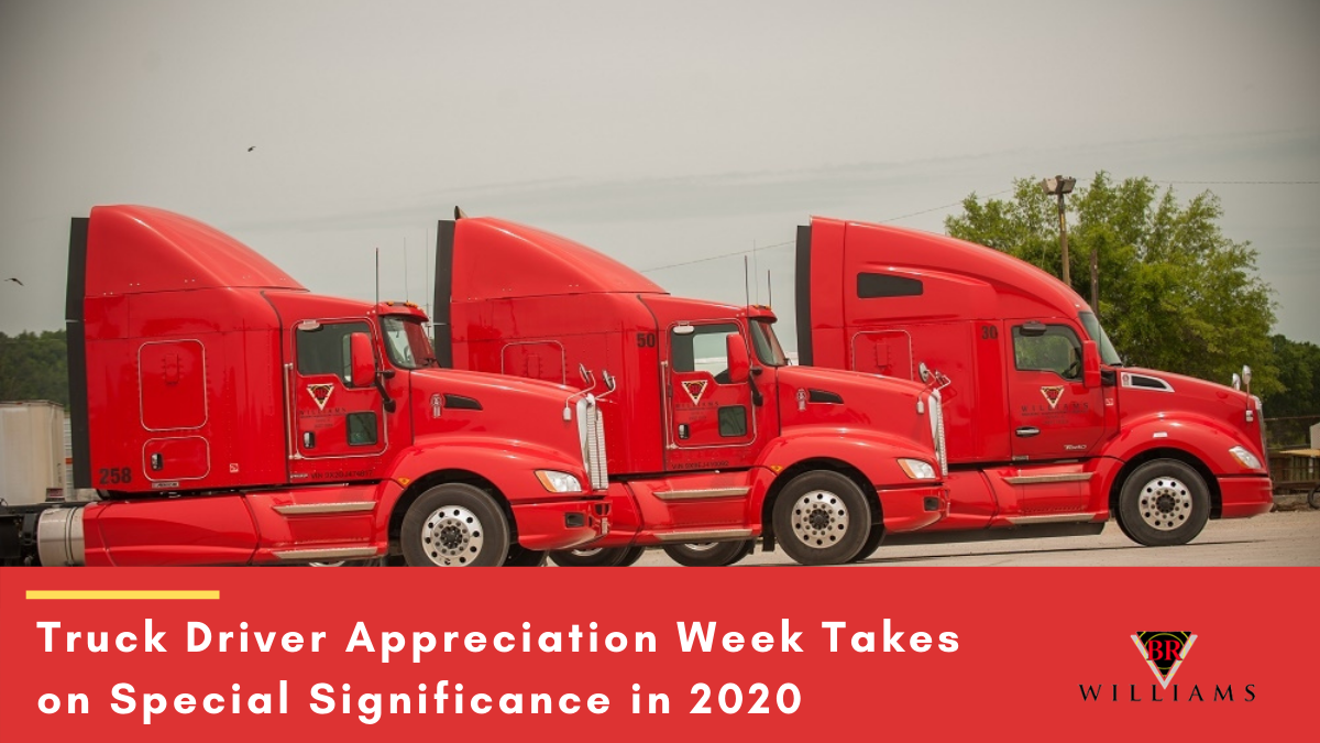 Truck Driver Appreciation Week Takes on Special Significance in 2020