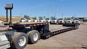 Flatbed Double Drop Trailer