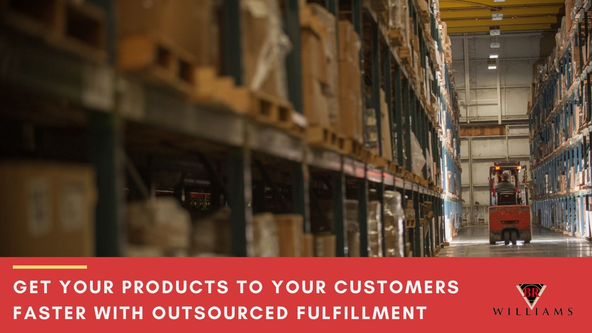 How to Get Your Products to Your Customers Faster with Outsourced Fulfillment