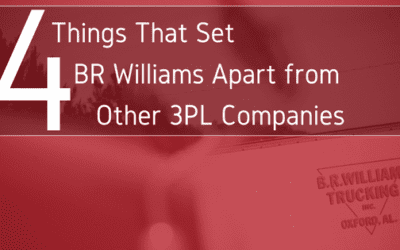 4 Things That Set BR Williams Apart from Other 3PL Companies