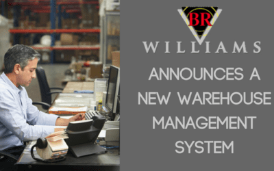 BR Williams, a Trucking, Logistics and Warehousing Firm Announces a New Warehouse Management System