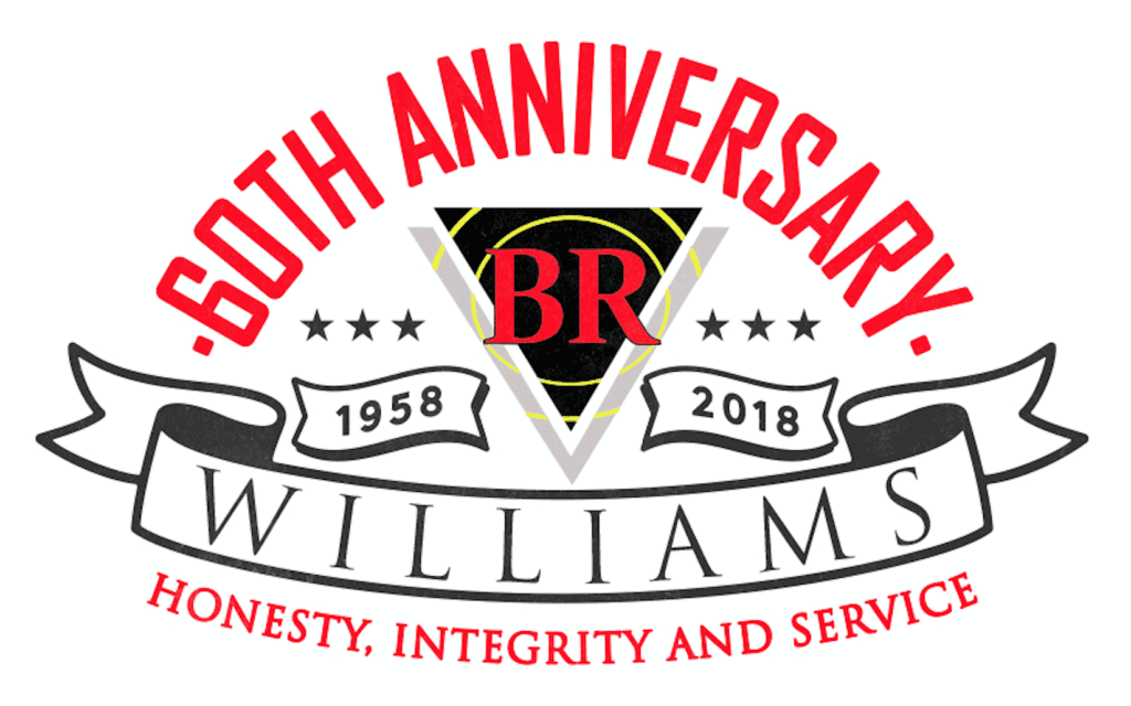 BR Williams 60th Anniversary