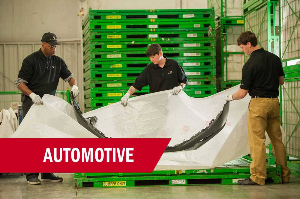 Automotive Industry Warehousing & Logistics Services in Alabama