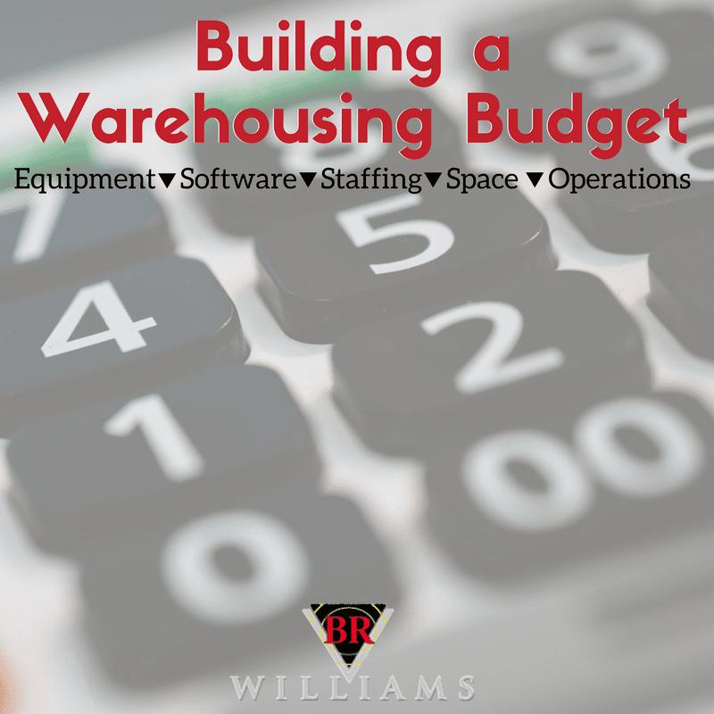 Building a Warehousing Budget