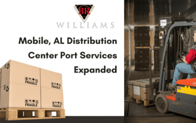 BR Williams Mobile, AL Distribution Center Port Services Expanded