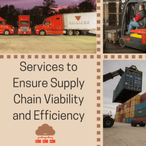 BR Williams Services to Ensure Supply Chain Viability and Efficiency