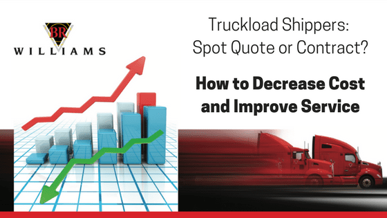 Truckload Shippers: Spot Quote or Contract?