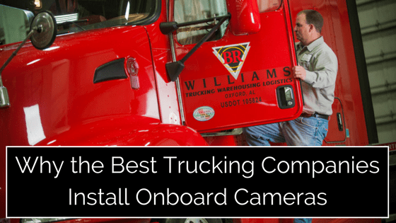 Why the Best Trucking Companies Install Onboard Cameras